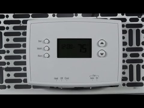 how to properly mount and wire the subbase for the honeywell home rth221b  thermostat  resideo