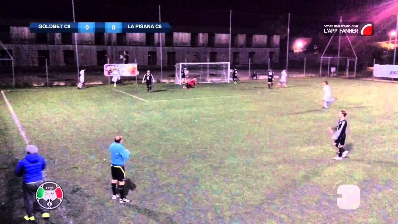 Goldbet Calcio a 8 VS La Pisana C8