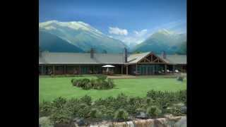 Hapuka Lodge animation - Okuru, South Westland, New Zealand
