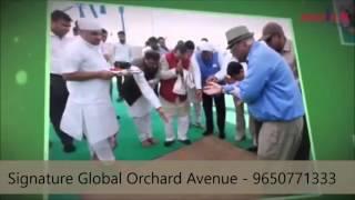 SIGNATURE GLOBAL ORCHARD AVENUE - 9650771333