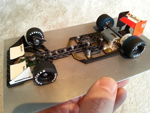 Max. driving skills – Wooden slot track 1/24 Klasse1 by Scaleauto