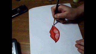Как нарисовать губы матрешке, irishkalia(В видео подробно показано как можно нарисовать губы матрешке. В плейлисте можно посмотреть как рисуются..., 2013-01-09T15:43:00.000Z)