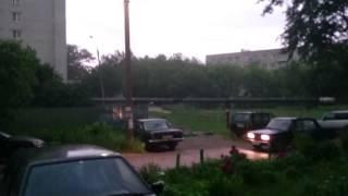 Быстрый ураган в Павлово Нижегородская область(, 2015-06-22T19:18:57.000Z)