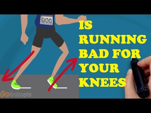 Is Running Bad For Your Knees? Why Running Form Important? | Animated