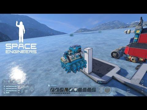 Space Engineers -- 4 -- OP Mining Ship!