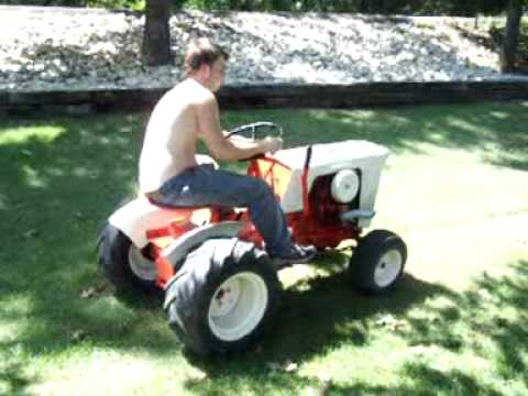 1965 Case Garden Tractor Model 130 YouTube