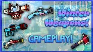 Pixel Gun 3D - Winter Weapon Gameplay!