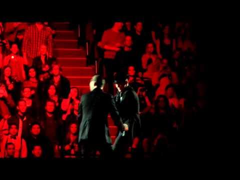 Justin Timberlake What cOMES aRouND gOES arOUND and CabarEt 01/20/14 The Forum