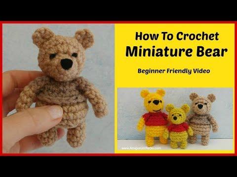 Crochet Amigurumi Winnie The Pooh Bear Free Pattern - Crochet ... | 360x480