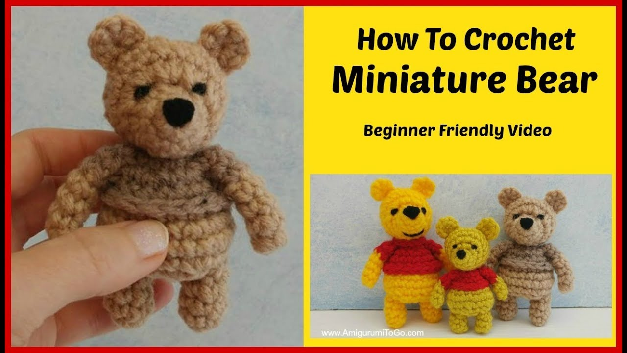 How To Make The Veil ~ Mini Crochet Wedding Bear | Crochet wedding ... | 720x1280
