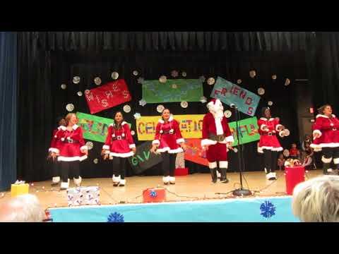 Amazing Christmas Party show Ojus Elementary School - 2017