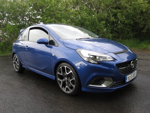 Review and Test Drive: 2015 Opel Corsa OPC