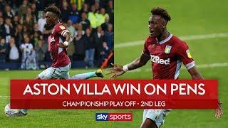 Villa win on penalties!   West Brom 1-0 Aston Villa   Highlights   Championship Play-Off Semi-Final