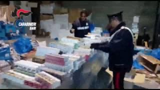 Blitz dei carabinieri, l'irruzione in un magazzino