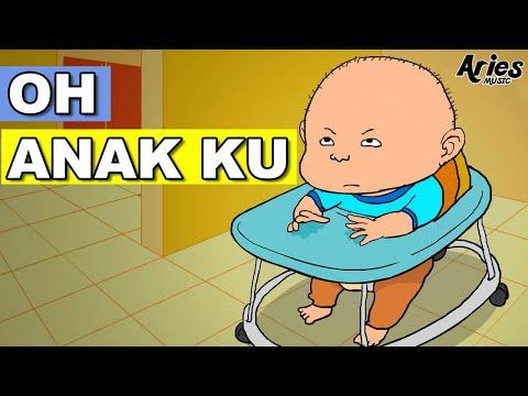 Alif & Mimi - Oh Anak Ku (Animasi 2D) lagu kanak kanak