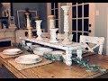 DIY Wood Table Riser || DIY Wood Table Runner || Farmhouse Tabletop Riser