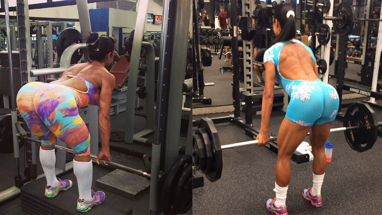 GRACYANNE BARBOSA - Fitness Model: Arms, Shoulders and ...