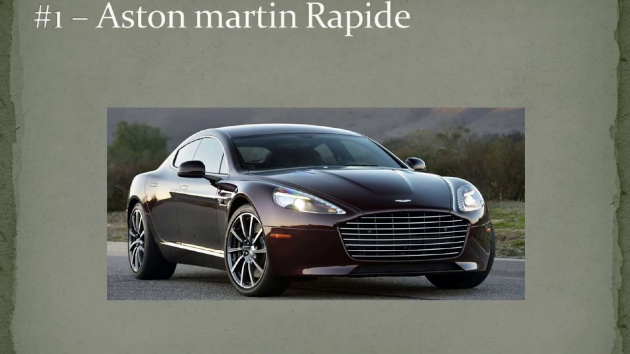 Top Most Expensive Sedans Youtube