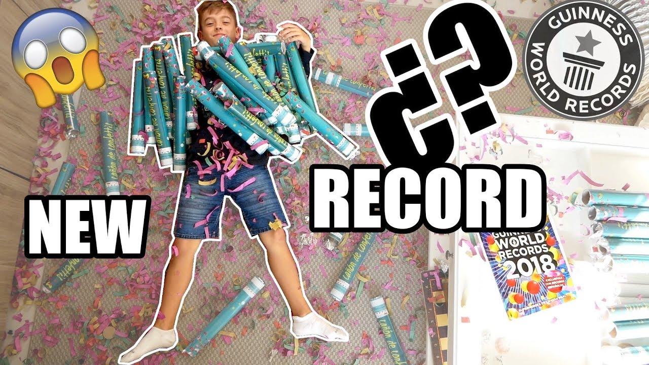 ¡INTENTO BATIR 3 RECORDS GUINNESS DEL MUNDO !