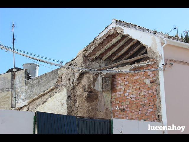 Vídeo noticia: Tres personas desalojadas tras el derrumbamiento parcial de su vivienda
