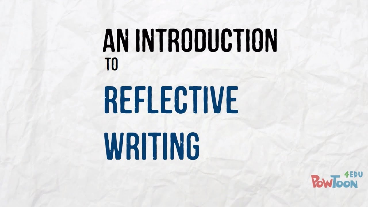 Reflective writing in Education - Research & Learning Online
