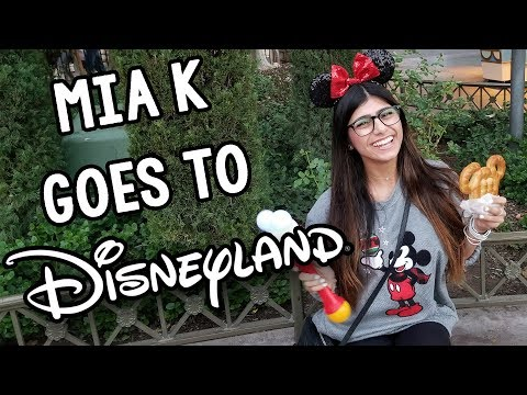 Mia K Goes to Disney for the First Time