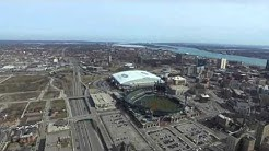 Detroit - Redwings New arena, Comerica Park, Ford Field
