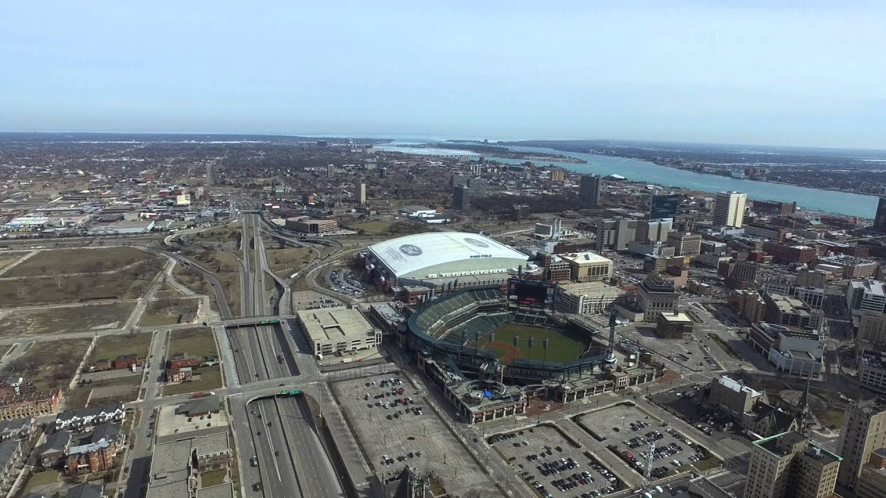Detroit redwings new arena comerica park ford field for Motor city casino parking