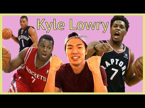 【NBA】個人的に一番優勝してほしい男、カイル・ラウリー