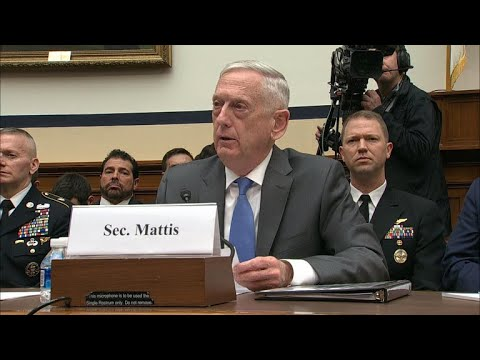"""Mattis says U.S. """"looking for the actual evidence"""" of chemical attack in Syria"""