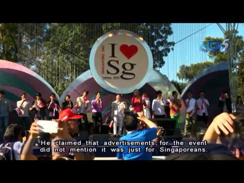 Singapore Day In Sydney Meant For S'poreans And Their Families - 15Oct2013