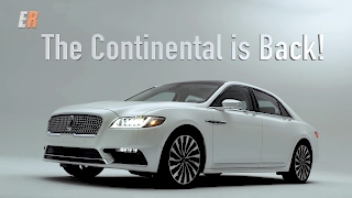 2017 Lincoln Continental Review -  The Big Guy