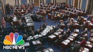 Senate Votes On Articles Of Impeachment Against Trump | Nbc News Live Stream Recording