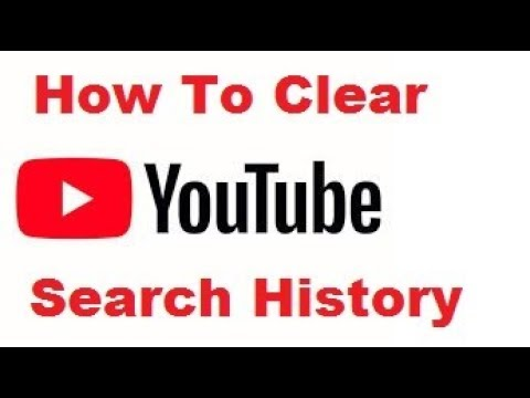 youtube how to clear search history
