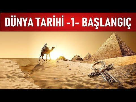 DÜNYA TARİHİ - 1 - MÖ 200,000 - MÖ 2,500