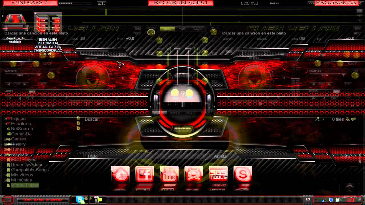 Skin Checo For Virtual Dj 7 By Therecordblack01 On
