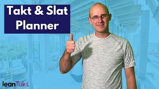 Takt and Slat Planner⎮Lean Example