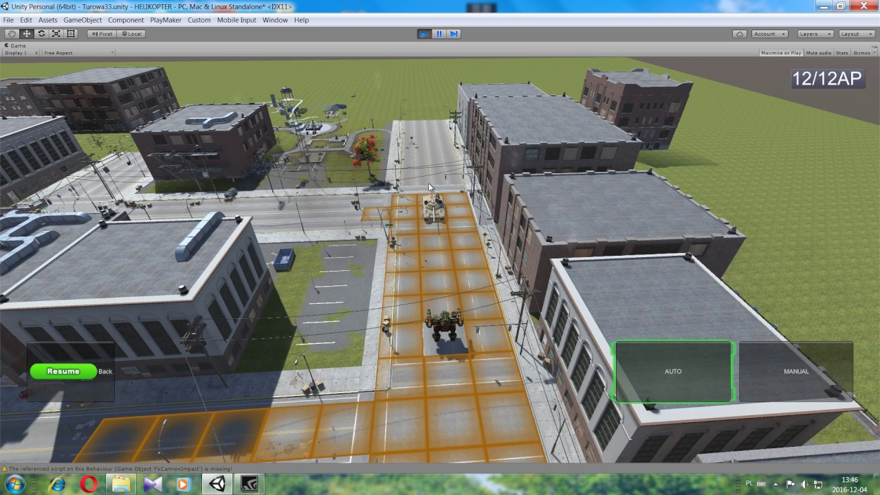 Unity - Playmaker  Turn based basic system