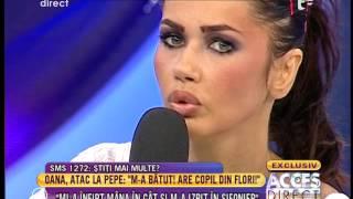 """Oana Zăvoranu: """"Pepe mi-a spus - te omor ca pe un pui de găină!"""""""