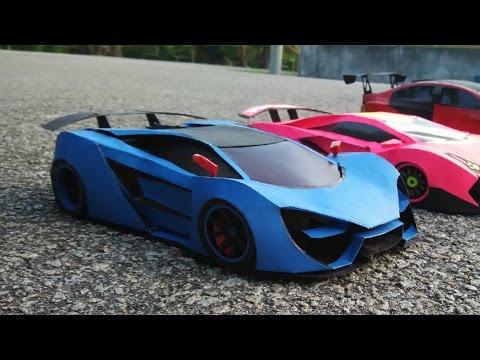 Lamborghini PaperCraft Car [ Thebian Concepts ] |  Paper Car