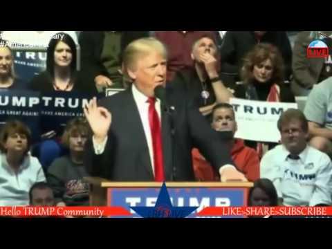 Donald Trump Rally from Fort Wayne, IN (Allen County War Memorial Coliseum) (5 1 16)
