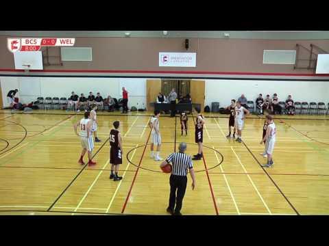 Jr Boys Basketball vs Wellington HS - Brentwood College School