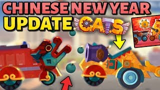 NEW AMAZING C.A.T.S UPDATE! - Chinese New Year (Ultimate parts & Weapons) Crash Arena Turbo Star