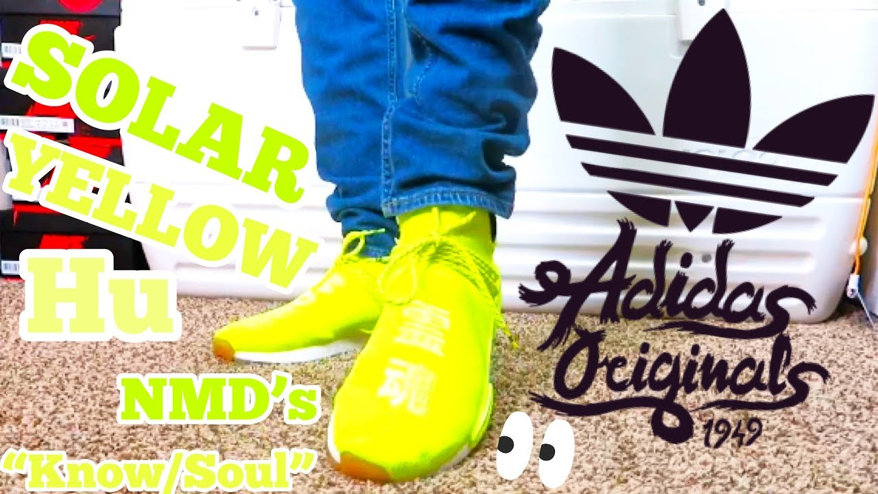 Buy Cheap Adidas x Pharrell Williams NMD Hu Shoes Fake 2021