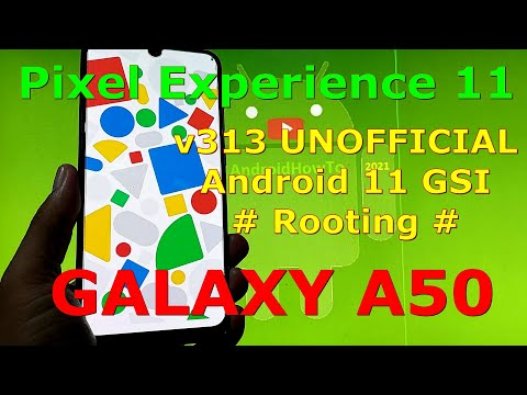 Pixel Experience 11.0 v313 on Samsung Galaxy A50 GSI ROM