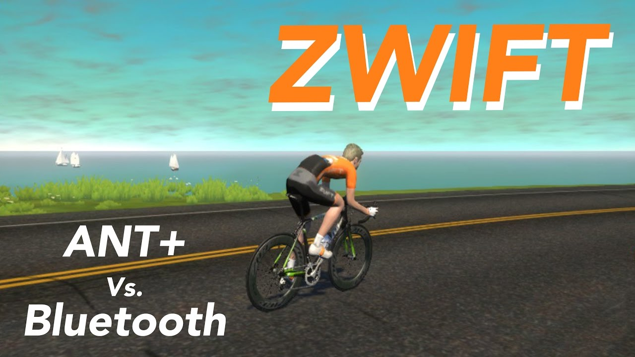 How to connect Zwift Sensors - Garmin Ant+ and Panobike Bluetooth