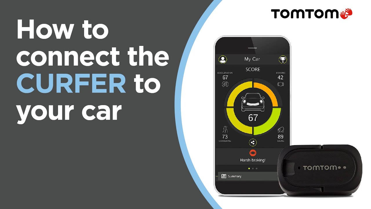 How to connect the TomTom CURFER to your car