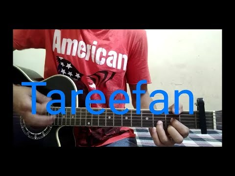 Tareefan song guitar lesson || veere di wedding || easy guitar lesson