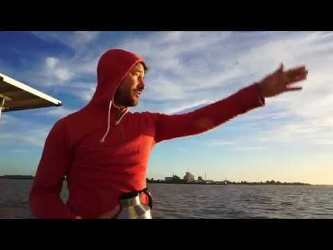 Sailing the Rio de la Plata in Uruguay