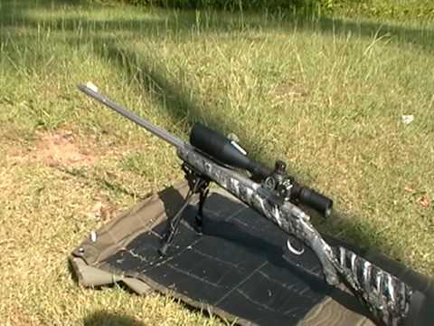 custom 7mm rem mag Mcwhorter rifle